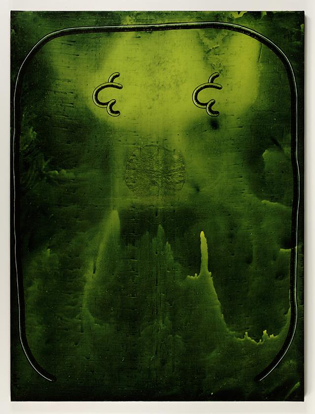 "John Wilkins, ""Reaches,"" (2007), Acrylic on canvas, 96 x 72 in"