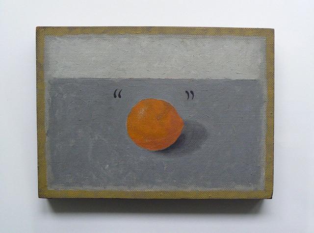 John A Walker, (date uncertain), oil on canvas, 11 x 14 in