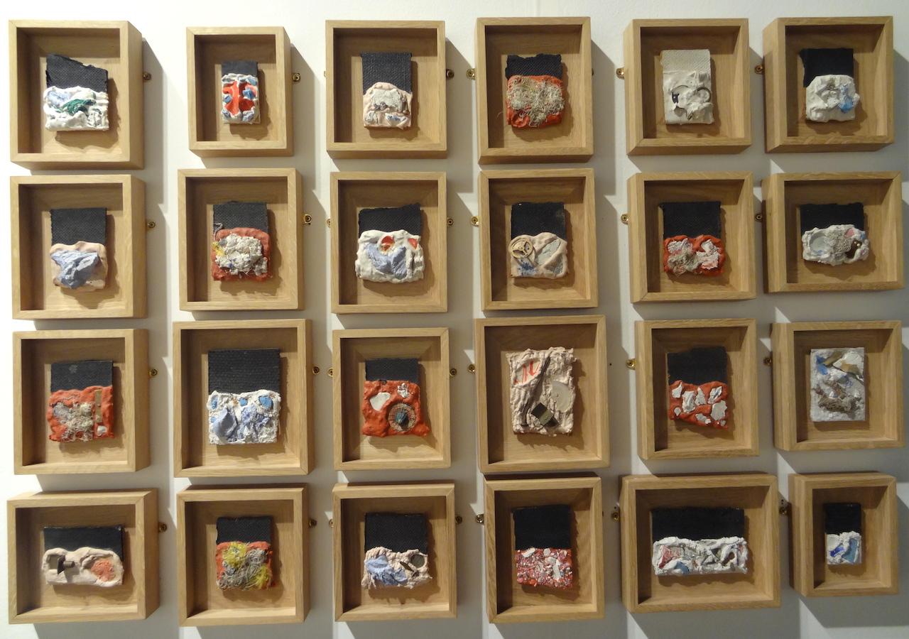 "Niki de Saint Phalle, ""24 Small Assemblages"" (circa 1960–61)"