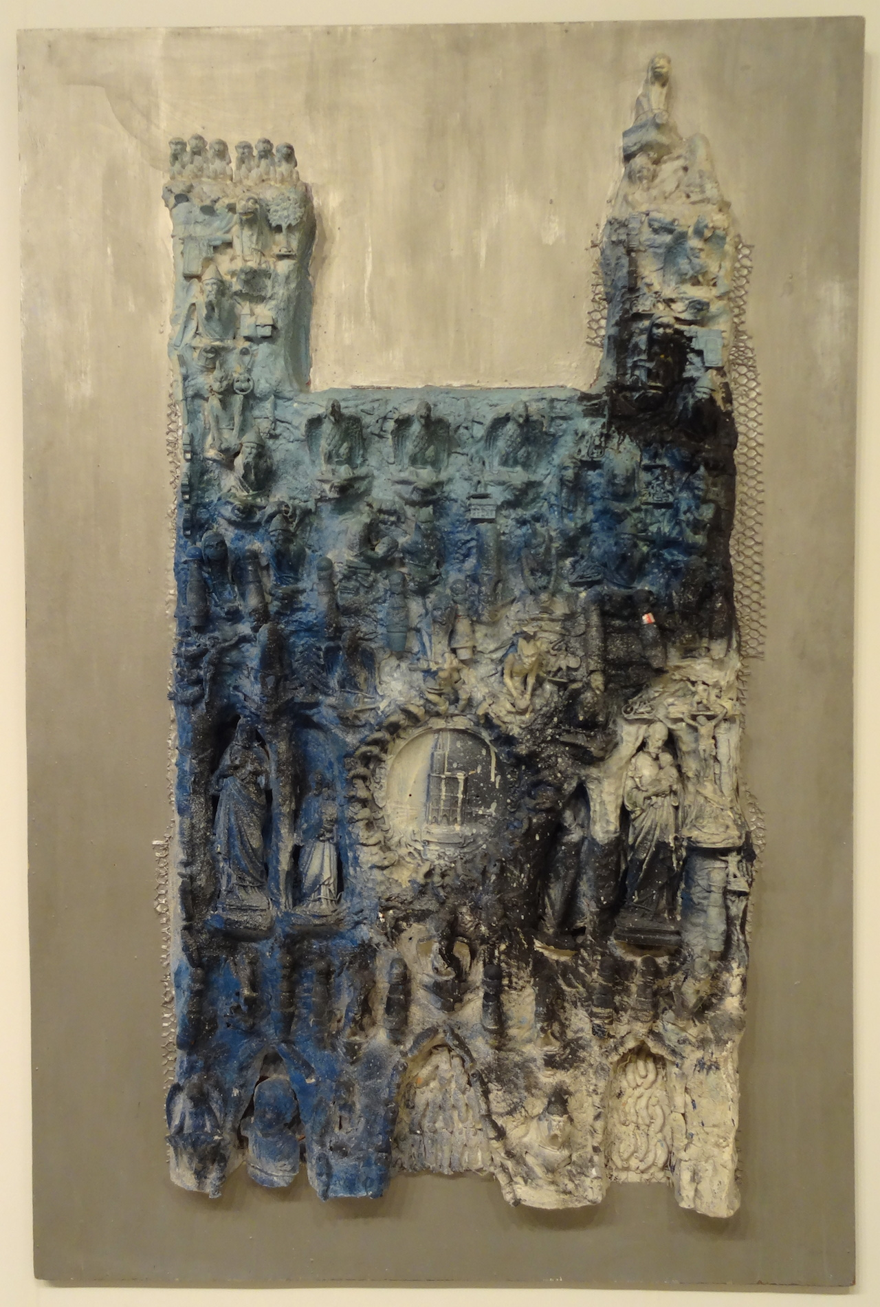 "Niki de Saint Phalle, ""Cathédrale"" (1962)"