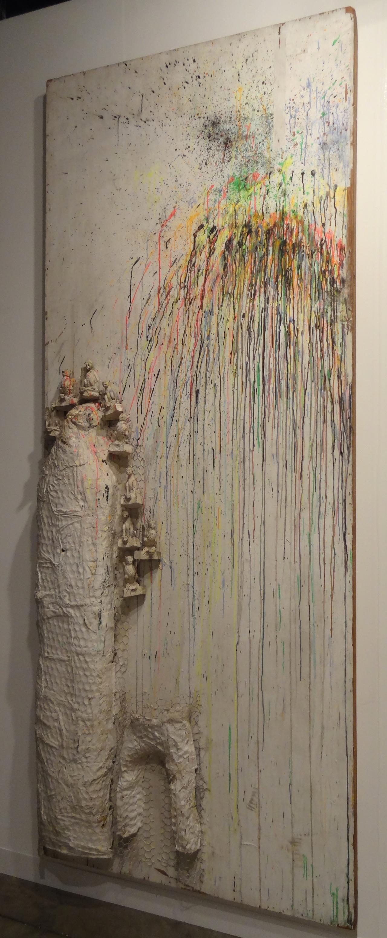"""NIki de Saint Phalle, """"Fragment de l'homme au facteur Cheval"""" (1962)"""