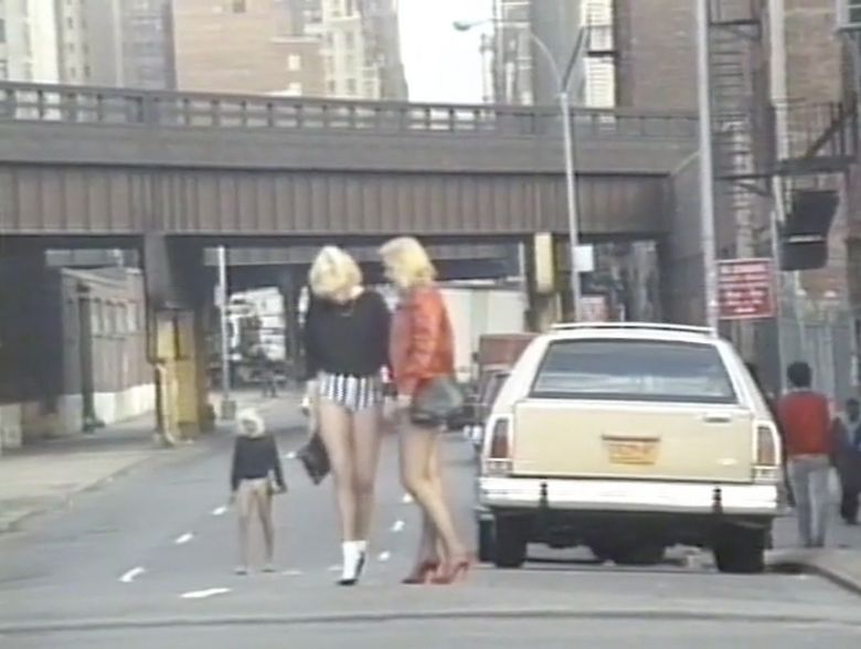 Still from Michel Auder, Chelsea Manhattan - NYC, 1990/2008 (via frenchculture.org)