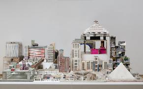Post image for Bertus Jonkers, Sculptor of Mini Metropolises