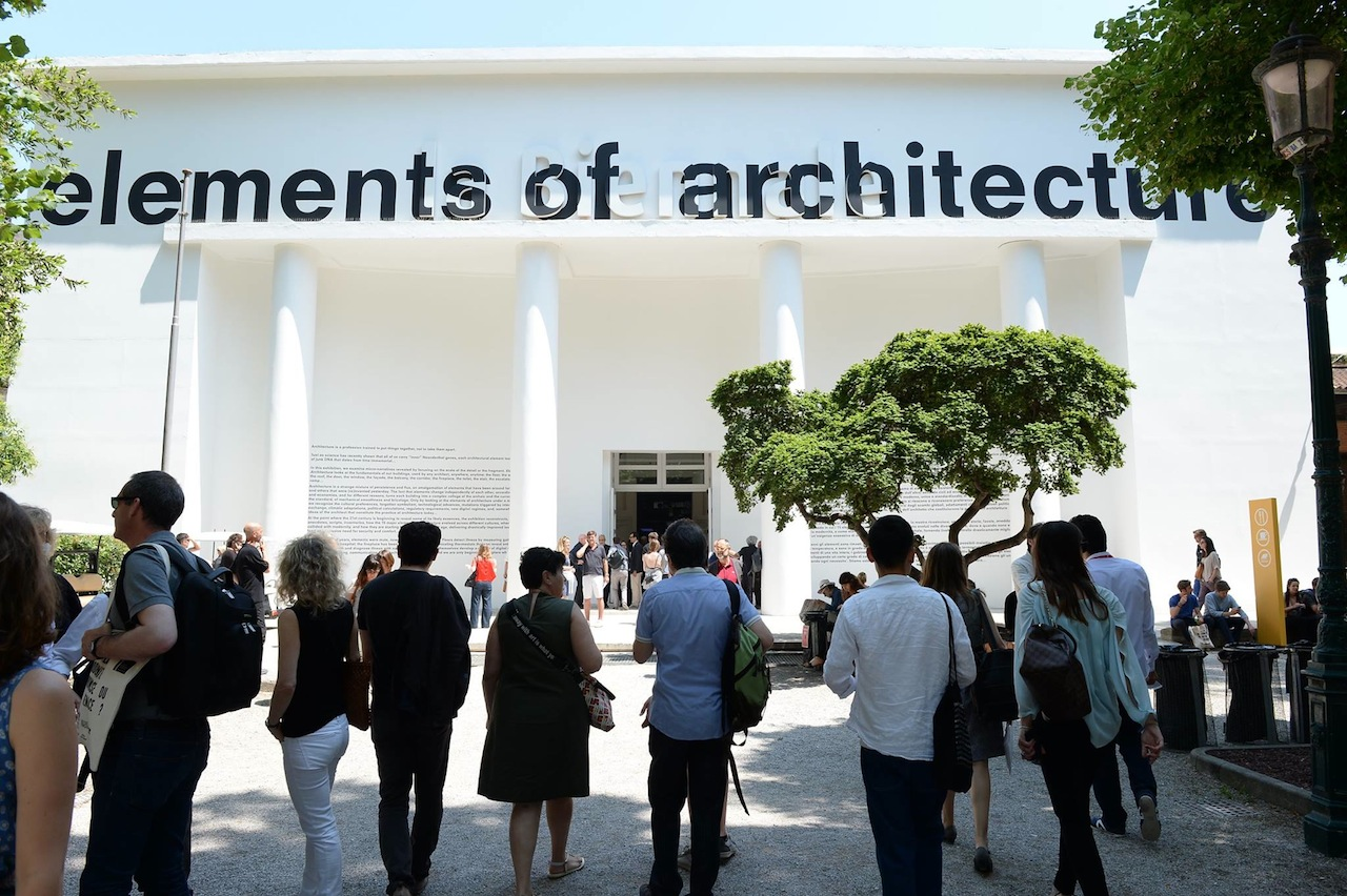 The Elements of Architecture at the 2014 Venice Architecture Biennale (Image via Facebook)