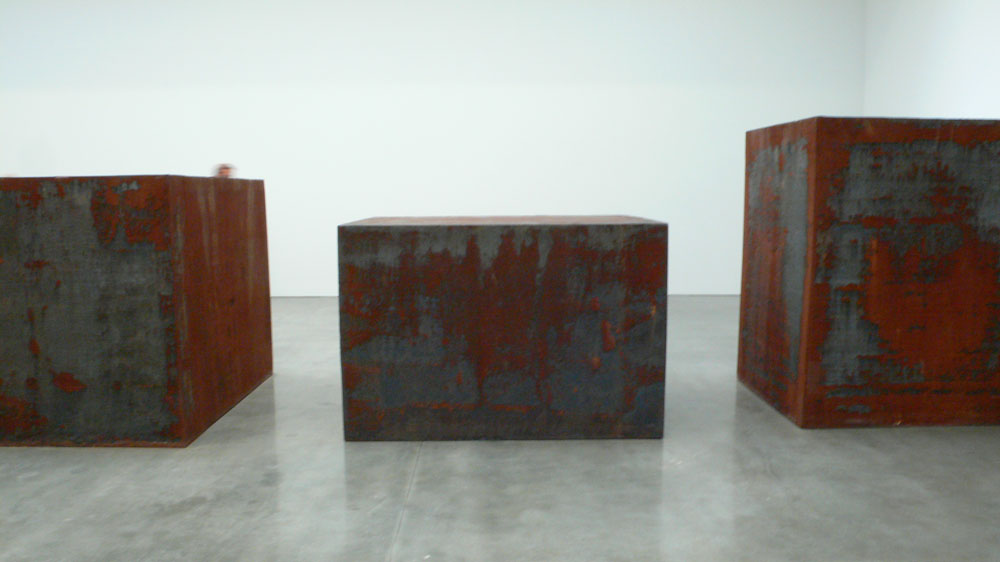 Sculptures by Richard Serra (photo by  Pedro Reis/Flickr)