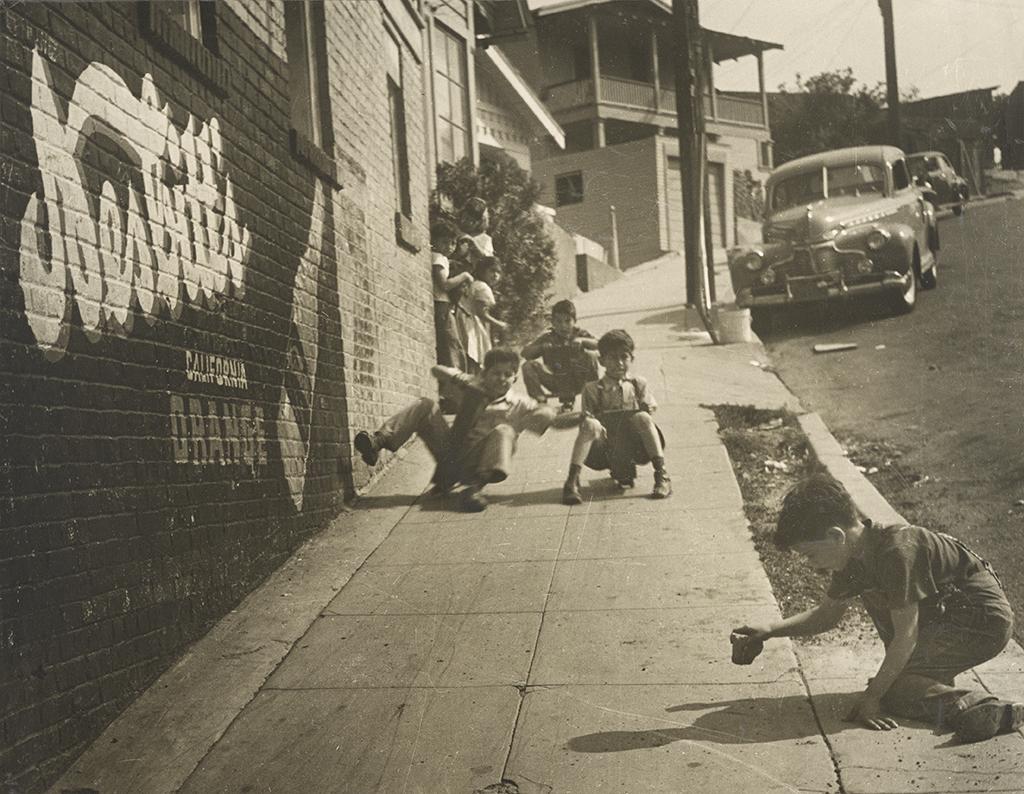 Joe Schwartz, East L.A. Skateboarders, 1950s (via getty.edu)