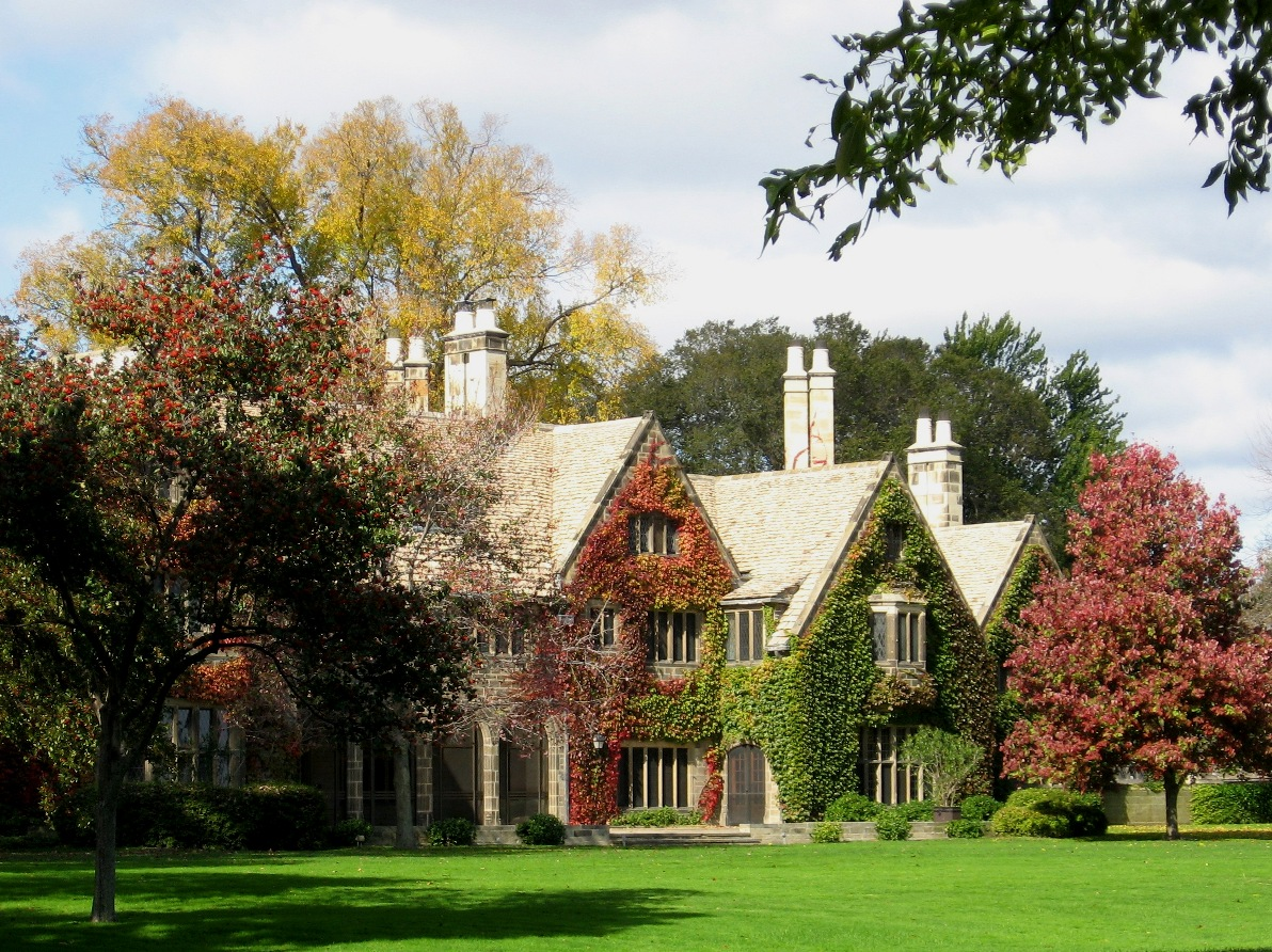 the exterior of the edsel and eleanor ford house in grosse pointe. Cars Review. Best American Auto & Cars Review