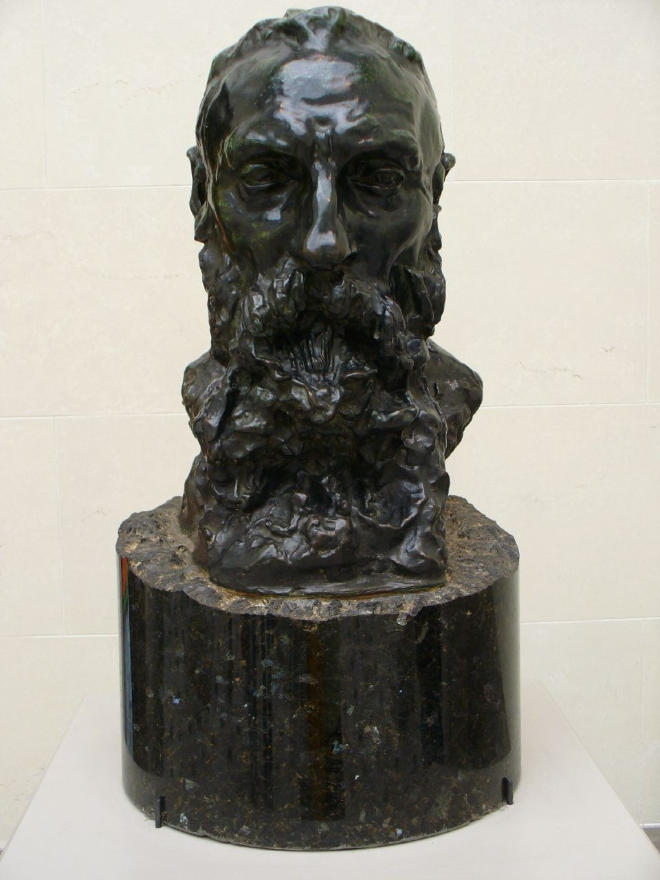 """Camille Claudel, """"Head of Rodin"""" (circa 1900) at the Legion of Honor in San Francisco (photo by lilakb/Flickr)"""