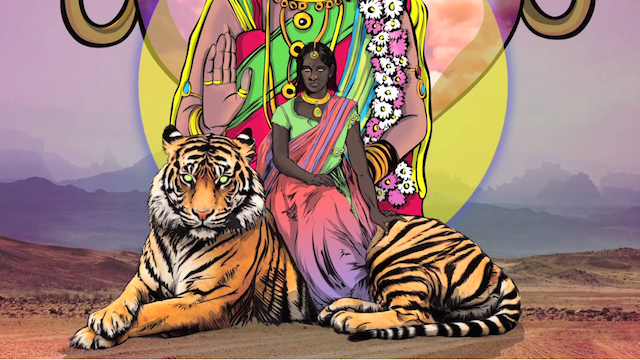 The superhero of a new comic called Priya's Shakti is a rape victim. (Screengrab via Vimeo)