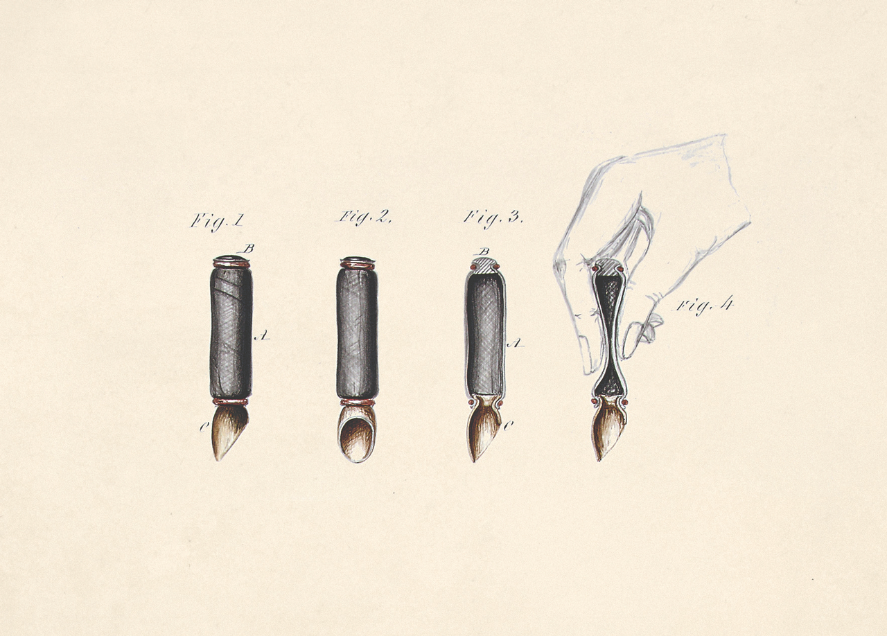 Artificial Leeches by D. G. Wertheimber & Francois Perroncel, 1848 (BT 45/8) (The National Archives, London, England 2014. © 2014 Crown Copyright)