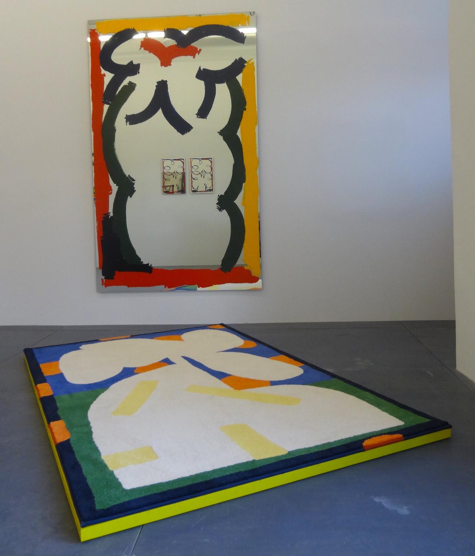 """Installation view of Jordy Van Den Nieuwendijk's """"Wet!"""" at MOIETY"""