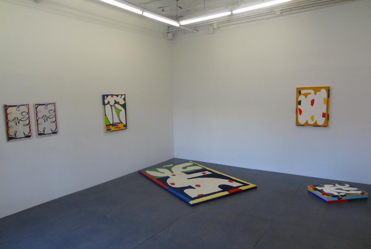 """Installation view of Jordy Van Den Nieuwendijk's """"Wet!"""""""
