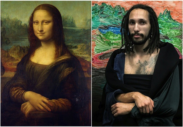 "Leonardo da Vinci, ""Mona Lisa"" (1503-1506)"