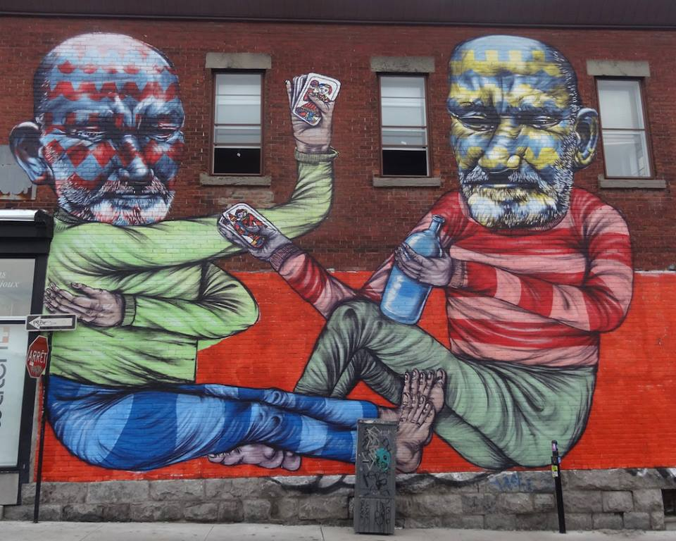 Mural by Other in Montreal