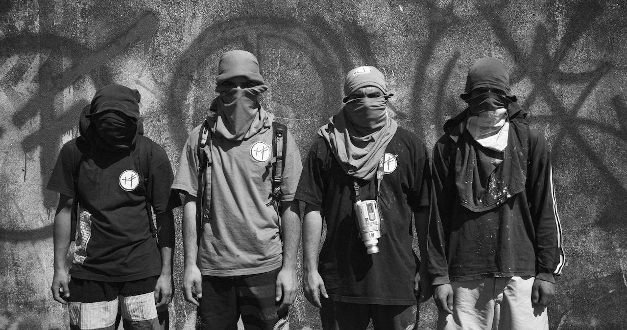 A film still from Pixadores (Image courtesy of Amir Arsames Escandari)