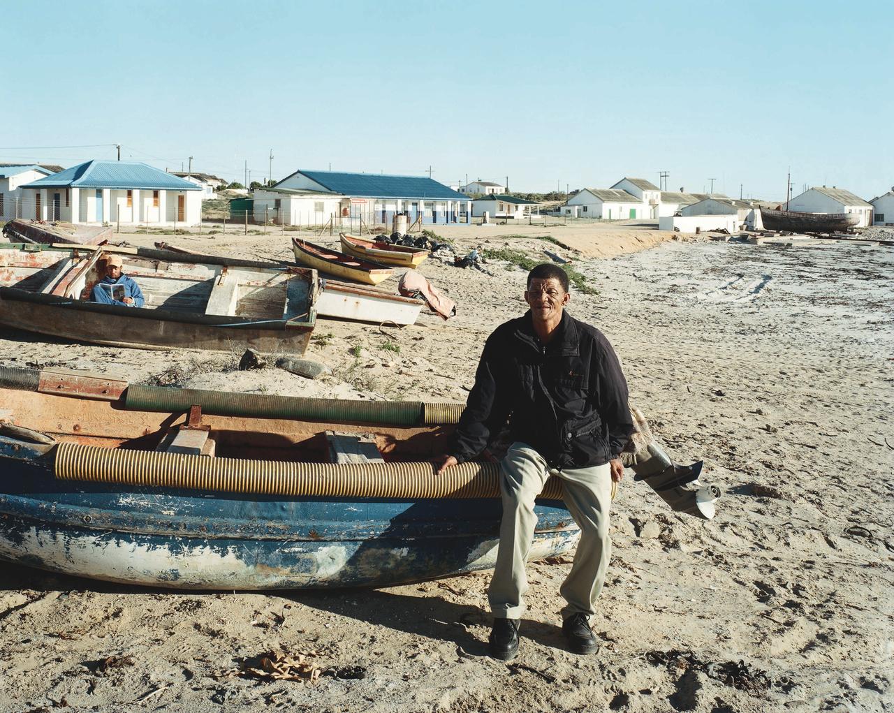 Piet Sochop, Municipal Councilor, Houdeklipbaai, Northern Cape, June 28, 2004 ((c) 2014 David Goldblatt)
