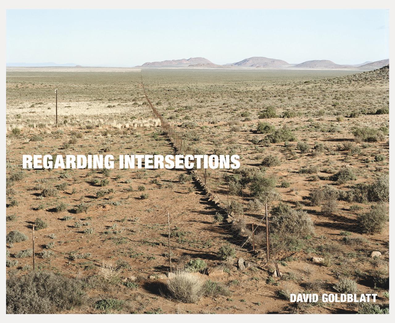 """Cover of """"Regarding Intersections"""" by David Goldblatt"""