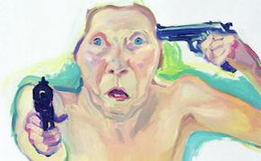 """Maria Lassnig, """"Du oder Ich"""" (2005)"""
