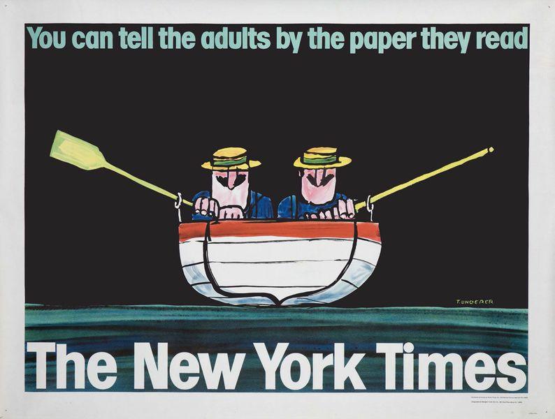 New York Times advertisement (1965).