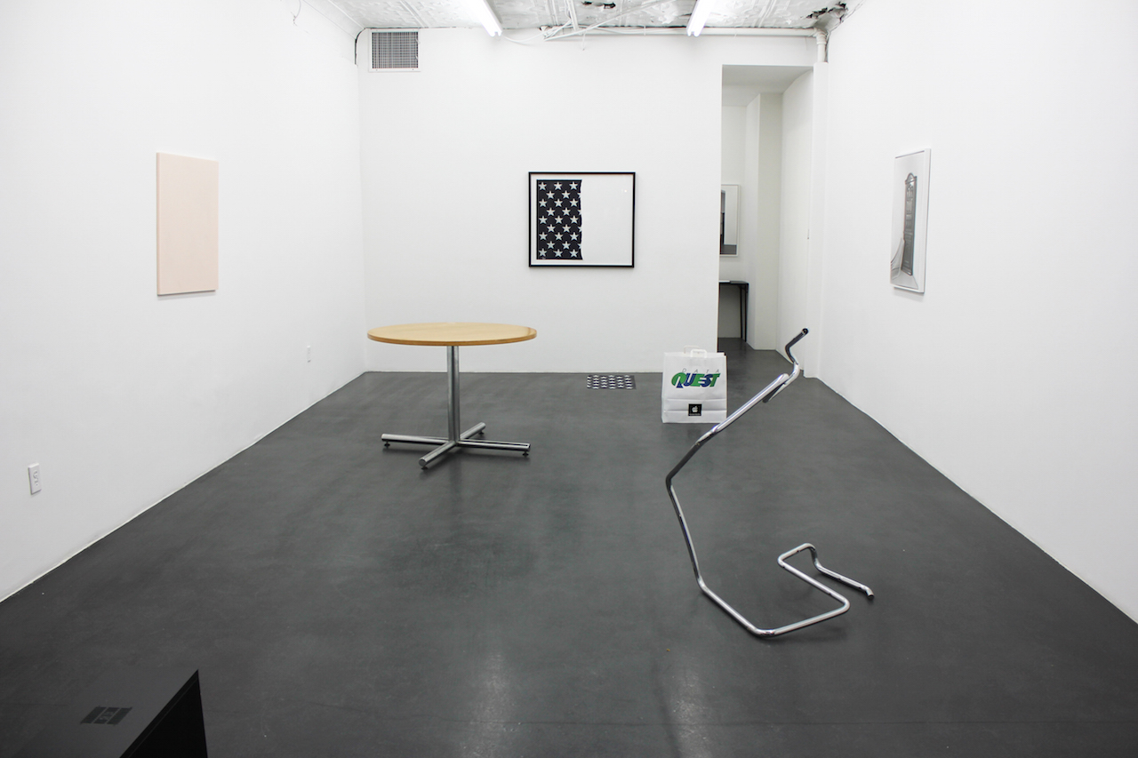 Installation view of 'The Contract' at Essex Street, New York (courtesy of the artists and Essex Street, New York)