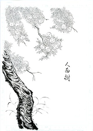 Ninmenju. Original illustration ny Shinonome Kijin