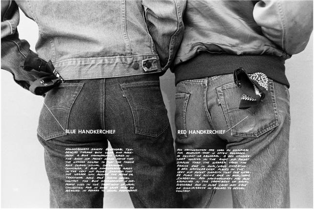Hal Fischer, Gay Semiotics, 1977 (via cherryandmartin.com)