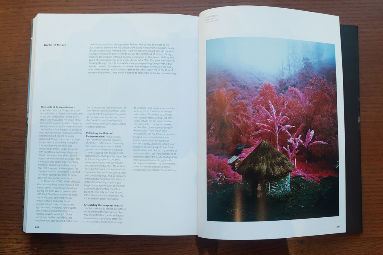 Richard Mosse spread from 'Post-Photography: The Artist with a Camera' (click to enlarge)