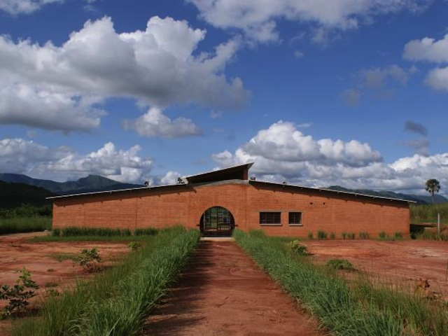 Manica Football for Hope Centre (image courtesy of Architecture for Humanity)