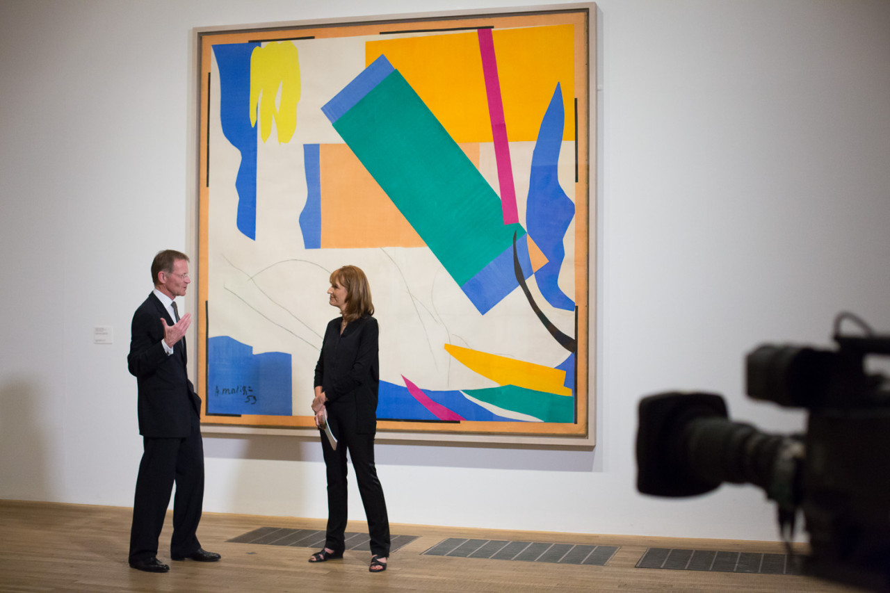 Matisse Live from Tate Modern, Francine Stock interviews Nicholas Serota All images courtesy of Arts Alliance