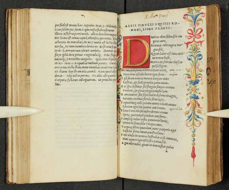 Catullus, Tibullus, Propertius (1502) (courtesy Bodleian Libraries, University of Oxford)