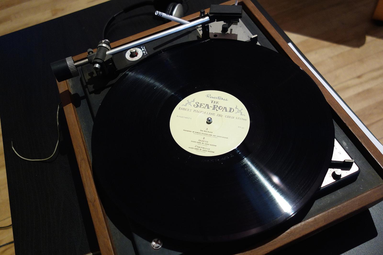 "Robert Mcfarland & Chris Watson, ""The Sea Road"" (2012), 12"" vinyl"