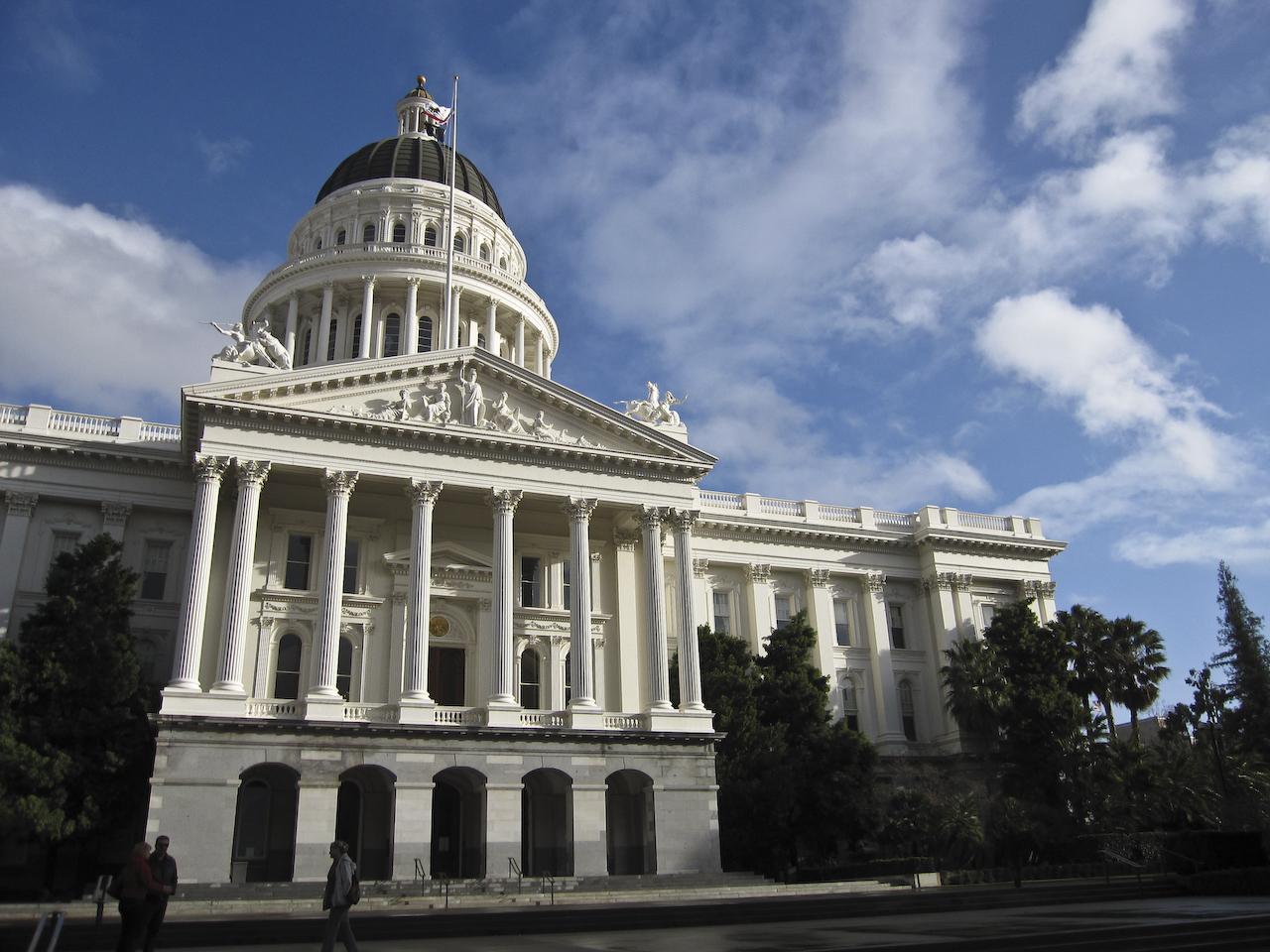 The California State Capitol in Sacramento (photo by Jessica Paterson/Flickr)