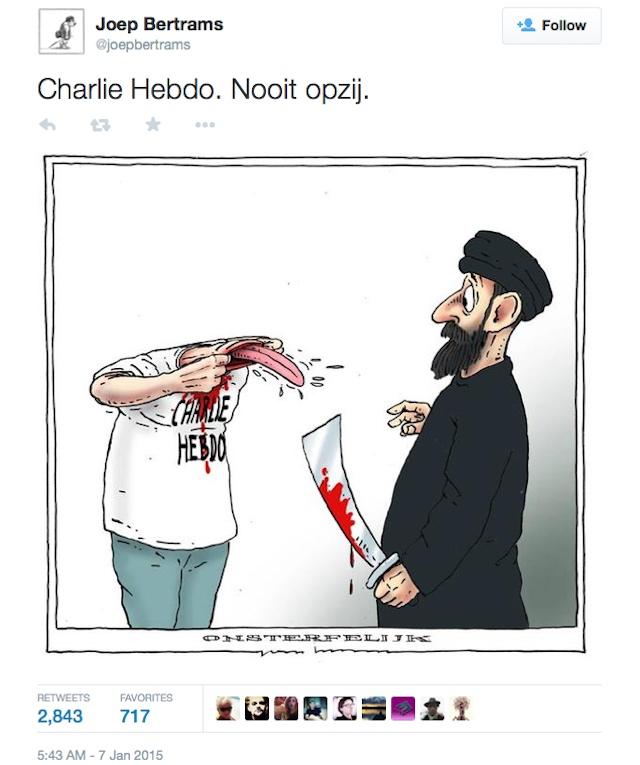 A comic by the Dutch cartoonist (image via joepbertrams/Twitter)
