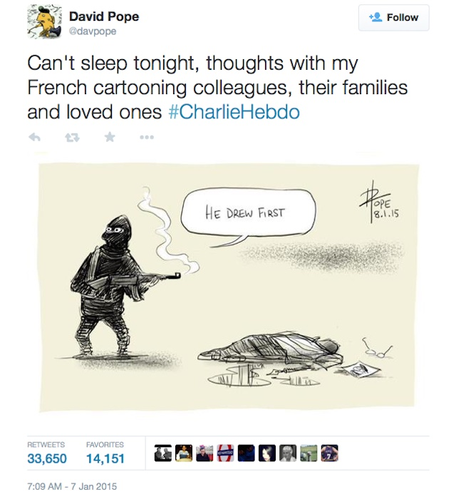 A comic by the Australian cartoonist David Pope (image via davpope/Twitter)