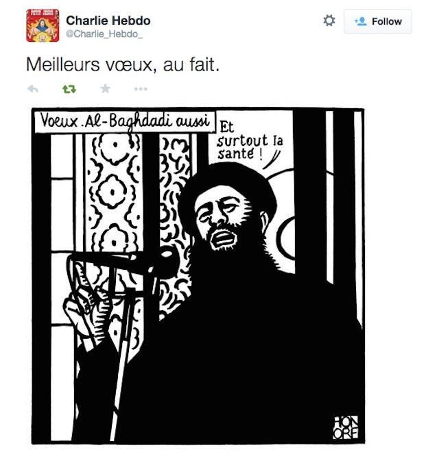 The last tweet from @Charlie_Hebdo_