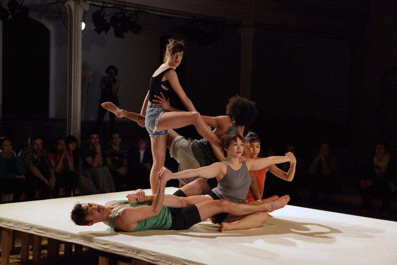 Faye Driscoll's 'Thank You for Coming: Attendance' at Danspace Project (all photos Aram Jibilian)