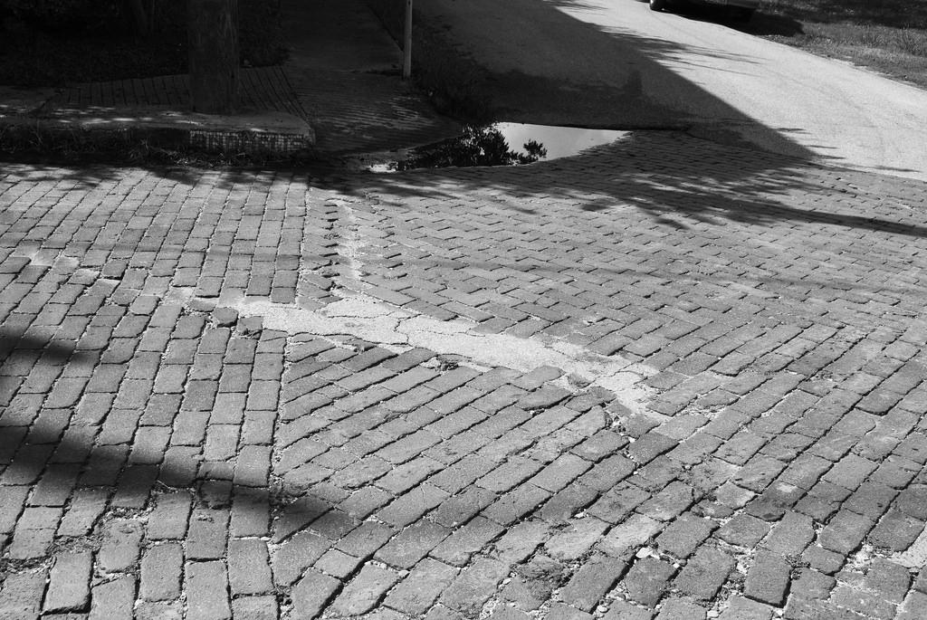 Brick streets in Freedmen's Town, Houston, Texas (photograph by Patrick Feller, via Flickr)