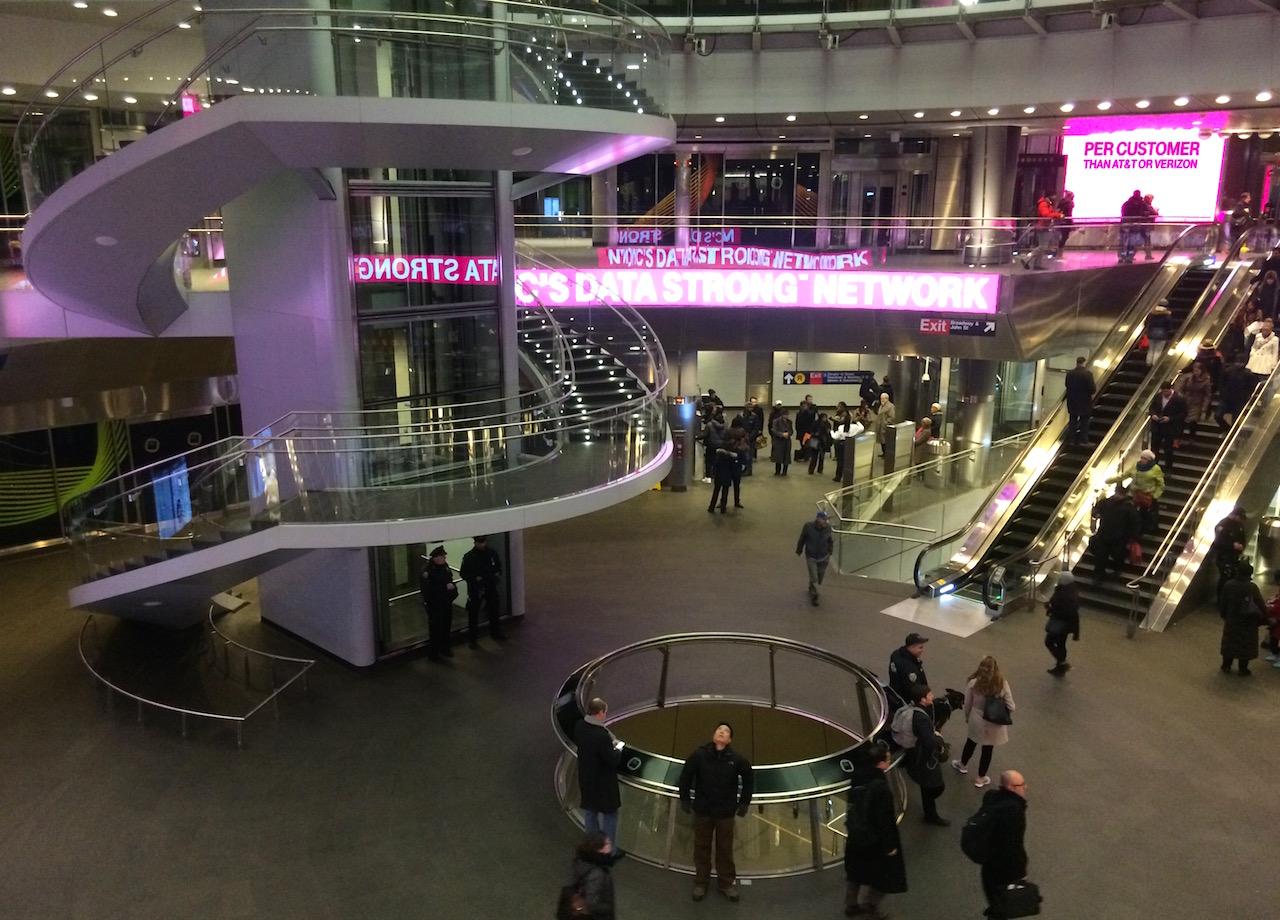 Inside the Fulton Center