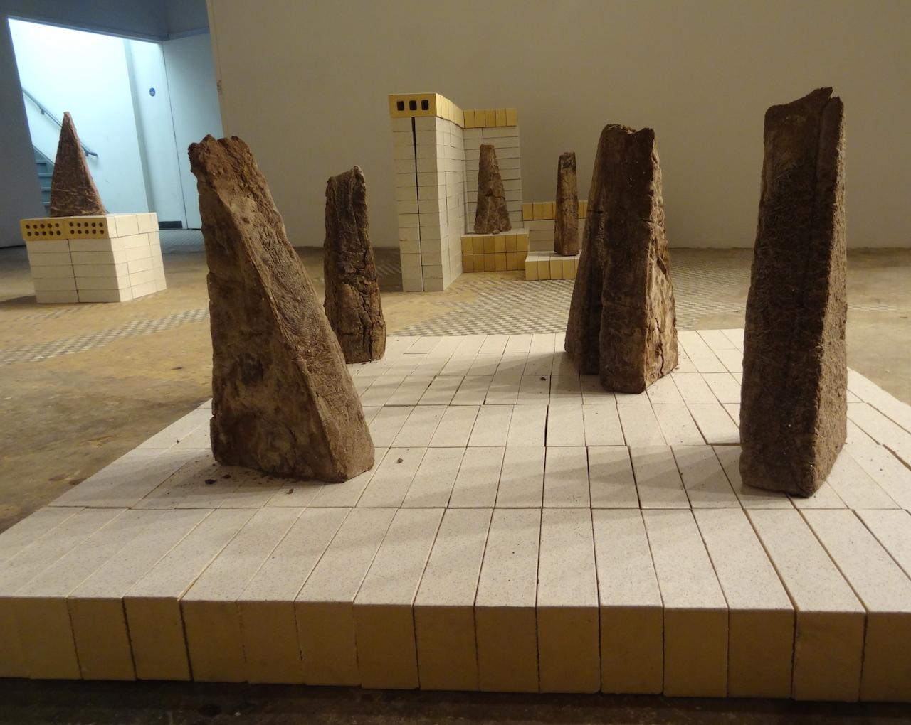 Installation view of Gabriela Salazar's 'My Lands are Islands' at NURTUREart