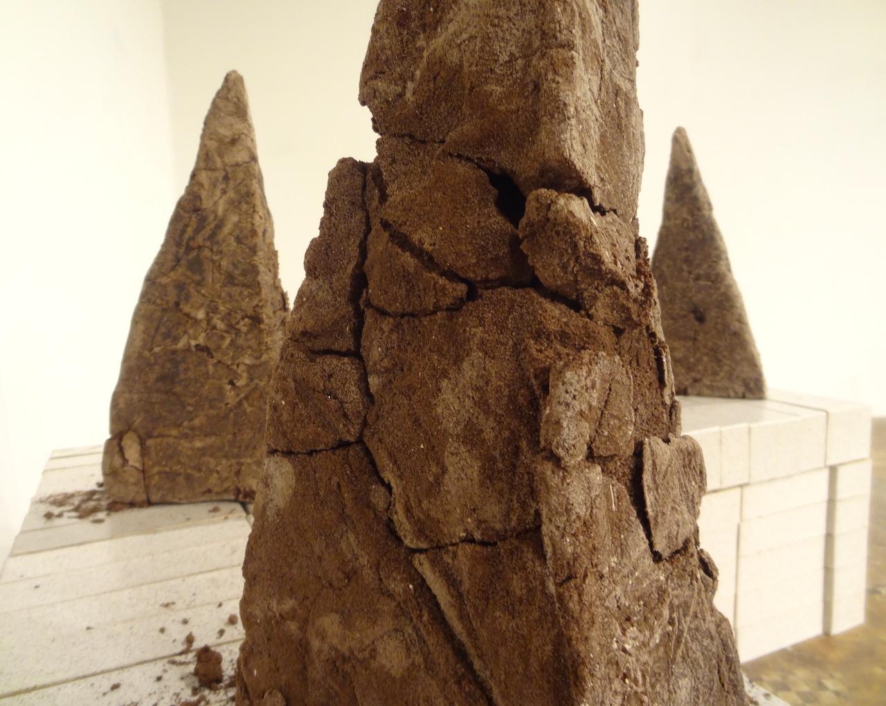 Detail of Gabriela Salazar's 'My Lands are Islands' at NURTUREart