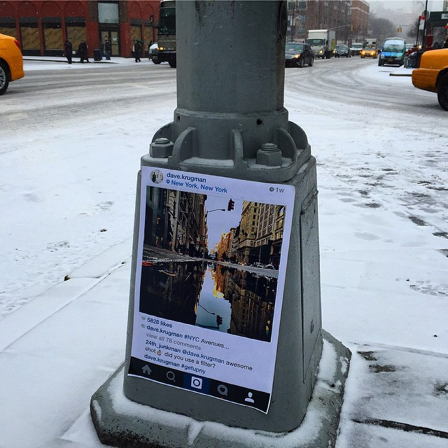 Photo by @dave.krugman pasted at Sixth Avenue and 8th Street