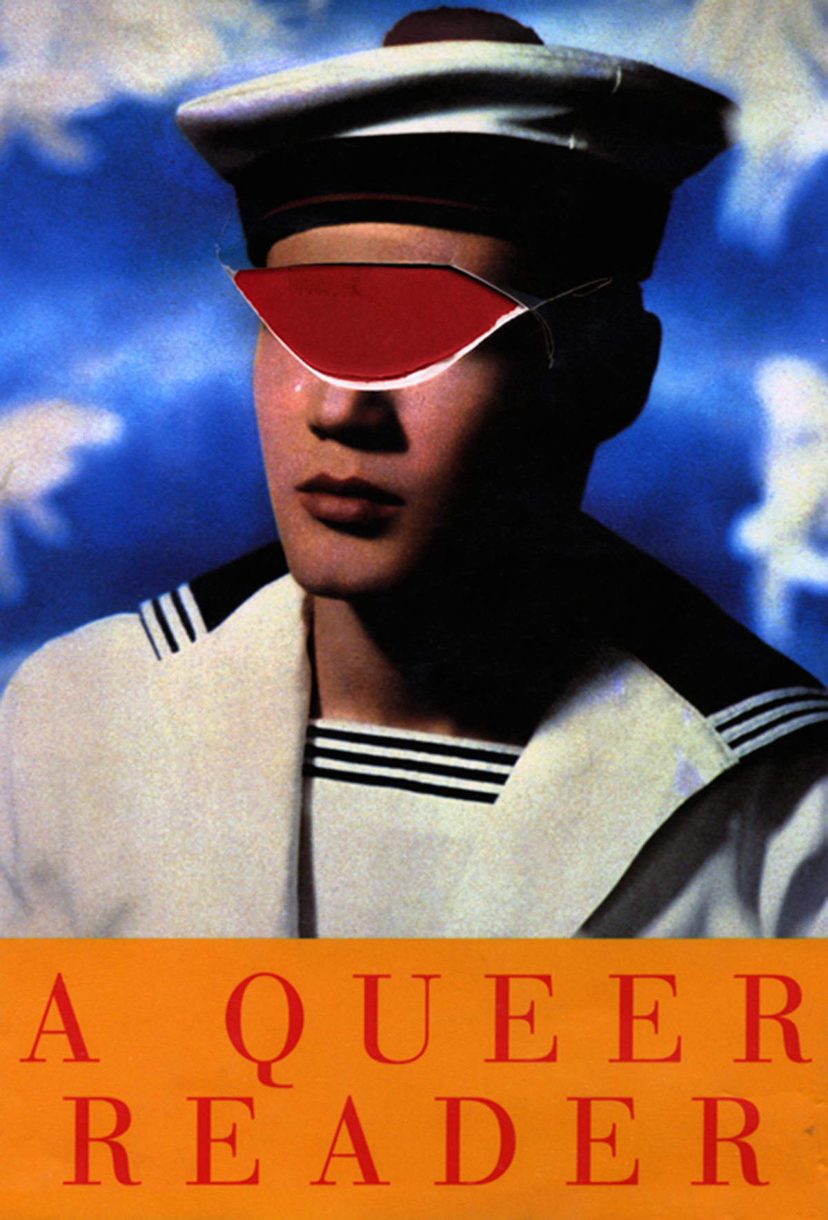 Harmony Hammond, A Queer Reader, 2010, Archival inkjet print on Museo Silver rag paper, mounted on Di-Bond with UV laminate, 43 x 29 in. Courtesy of the artist.