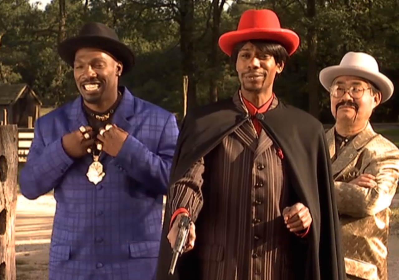 """Still of the """"Time Haters"""" skit from 'Chappelle's Show'"""