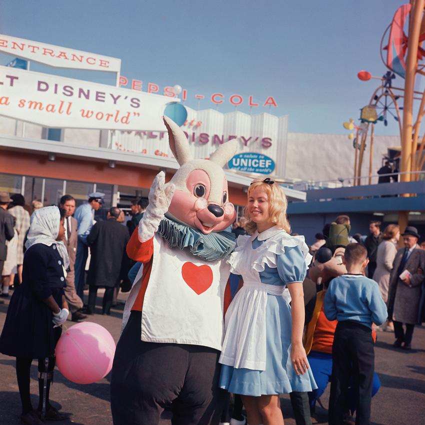 Jerry Kean_Alice and the White Rabbit at Disney's It's a Small World_HiRes