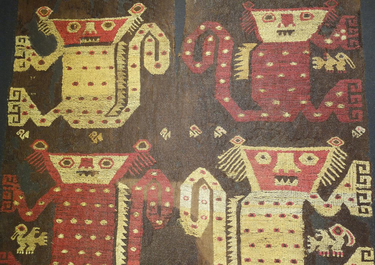 Half of a tunic, Peru (1100-1400 AD), Gail Martin Gallery