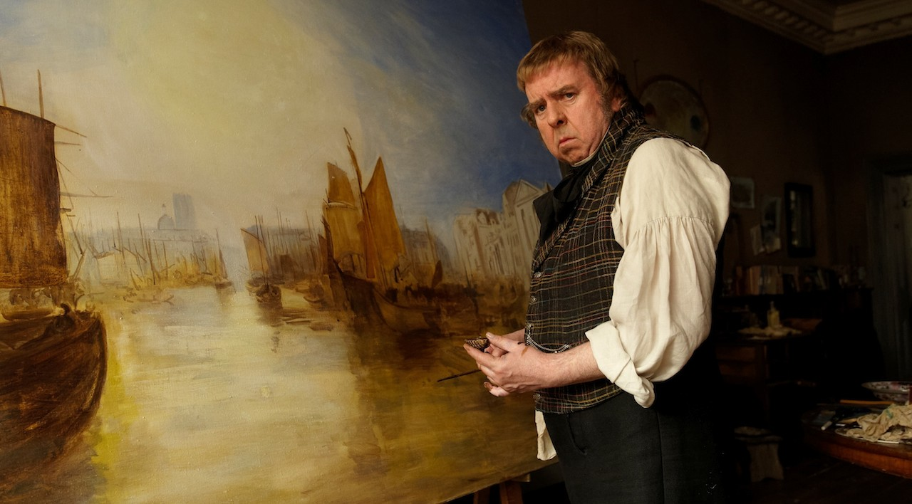 Timothy Spall as J. M. W. Turner in 'Mr. Turner' (2014), nominated for four Academy Awards (courtesy Sony Classics)