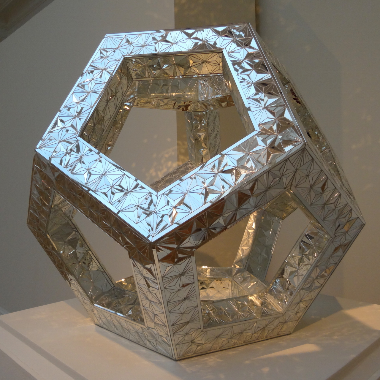 "Monir Farmanfarmaian, ""Octagon Sculpture"" (2013)"