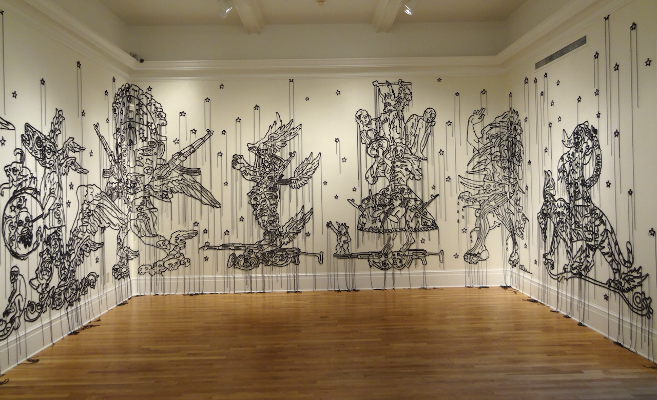 """Installation view of Hew Locke, """"The Nameless"""" (2010–14)"""