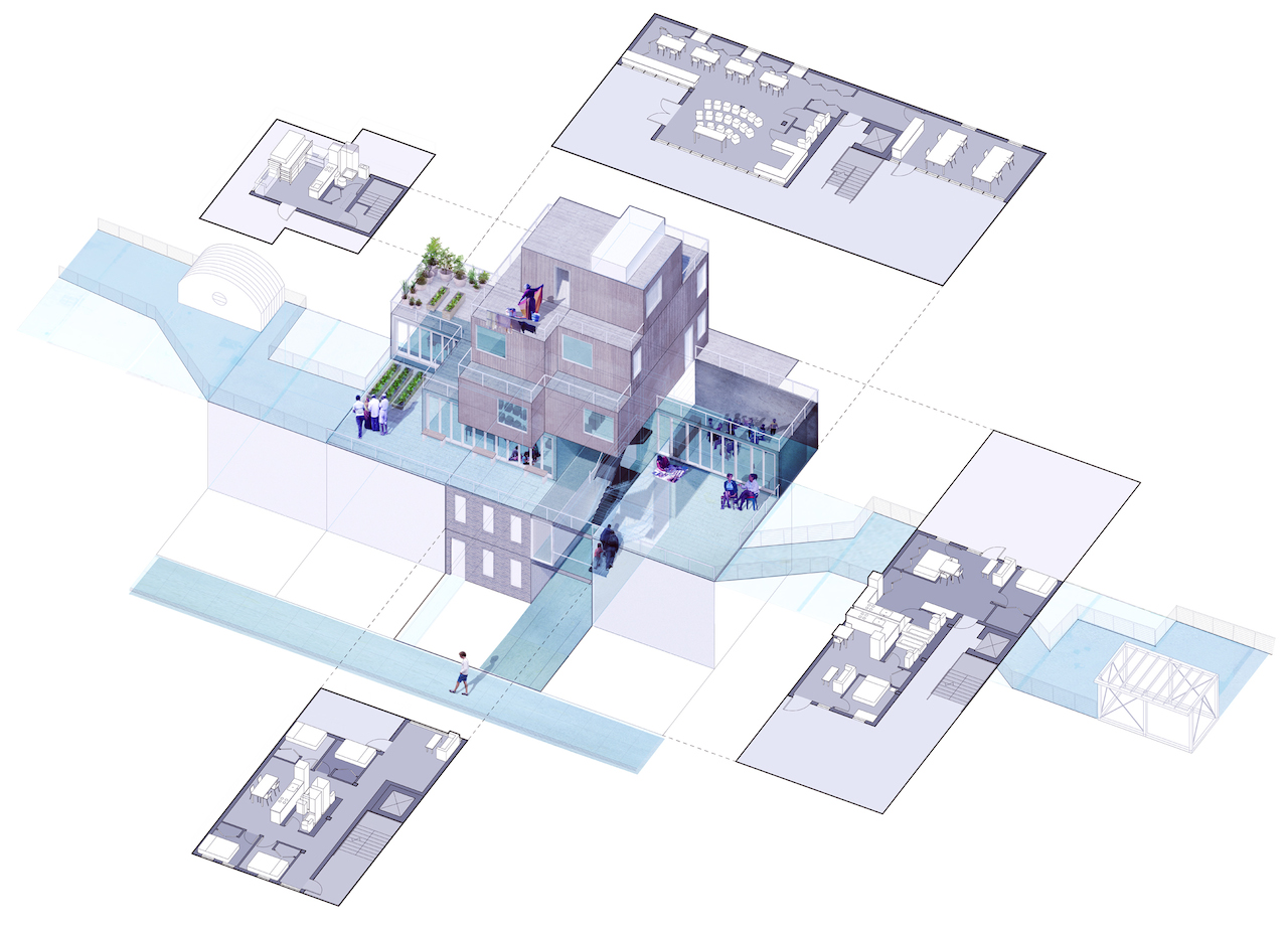 The Other New York. 2014. Community Growth Corporation infill typology. 2014. Courtesy SITU Studio
