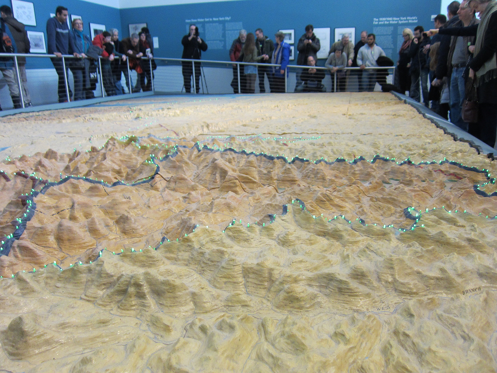 The Watershed Model at the Queens Museum